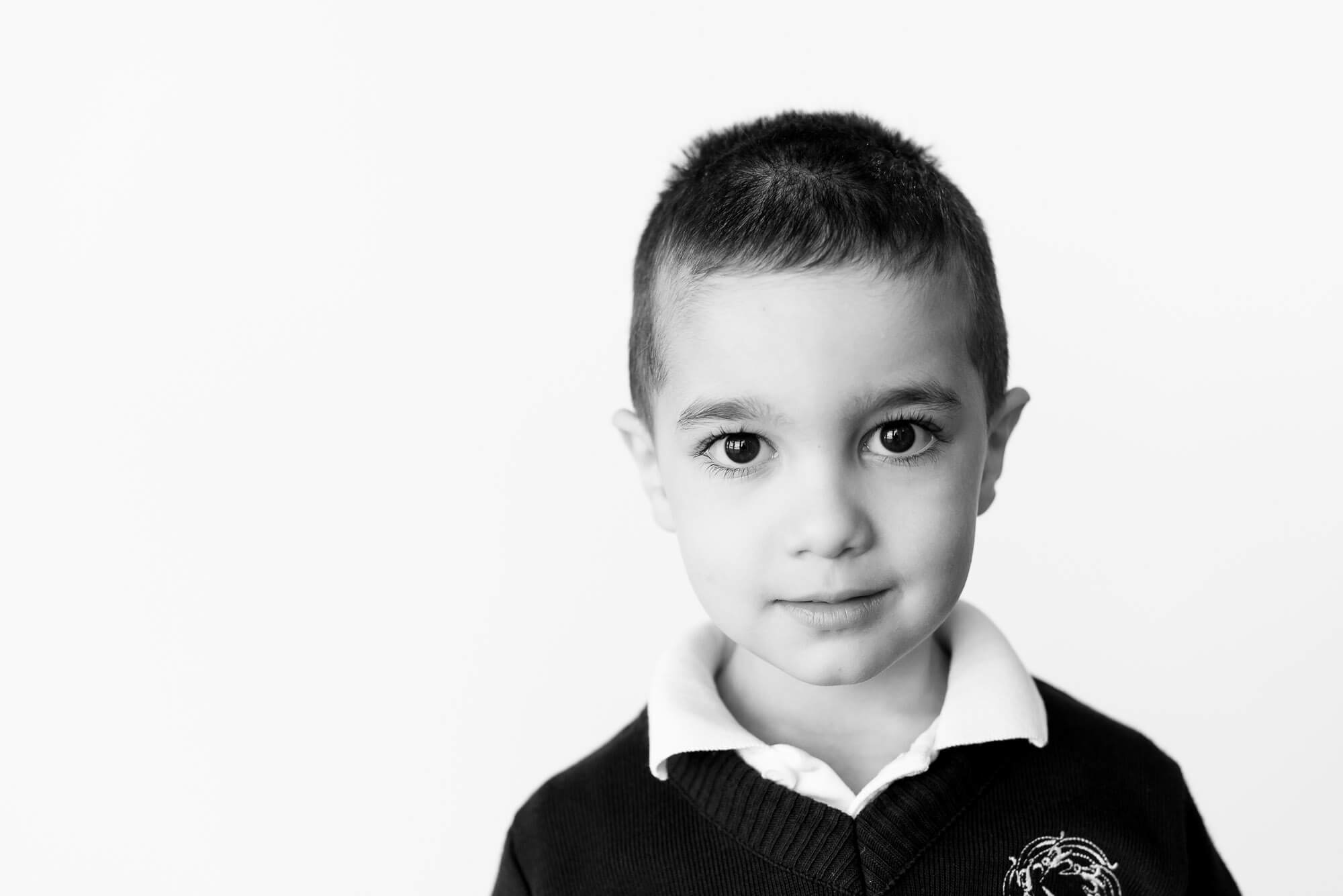 boutique school photography serious looking boy