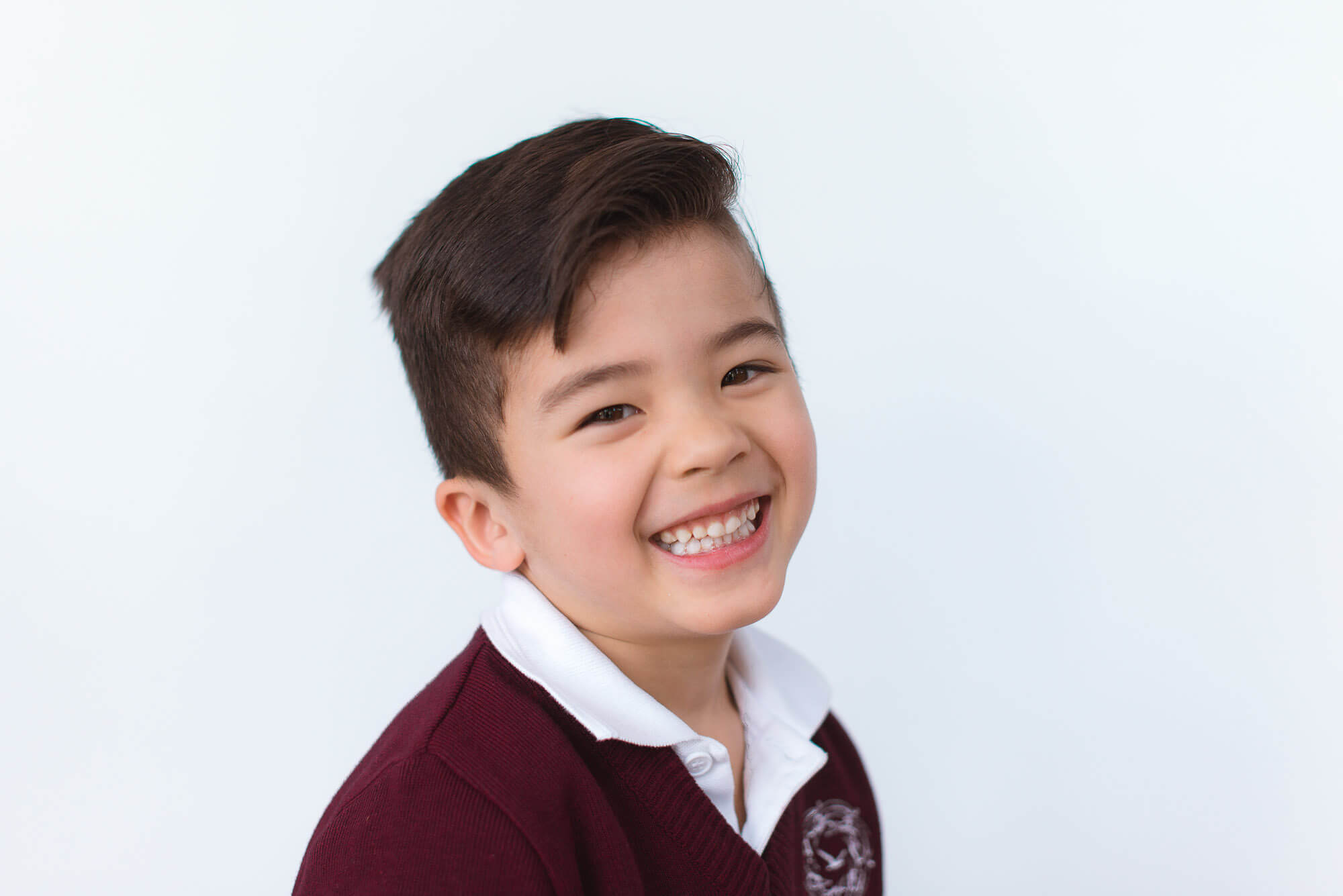 boutique school photography smiling boy