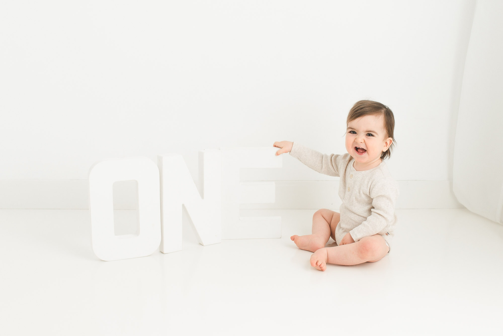 one year baby photo session